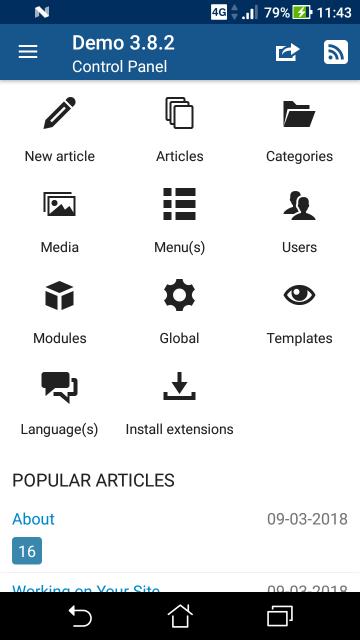 Joomlapp - Joomla for Android